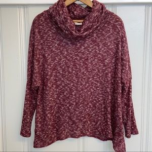 Anthro   Le Lis Cowl neck Sweater